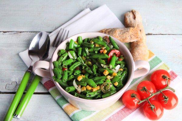 Спаржевая фасоль: популярные рецепты салатов с её добавлением | Застолье-онлайн