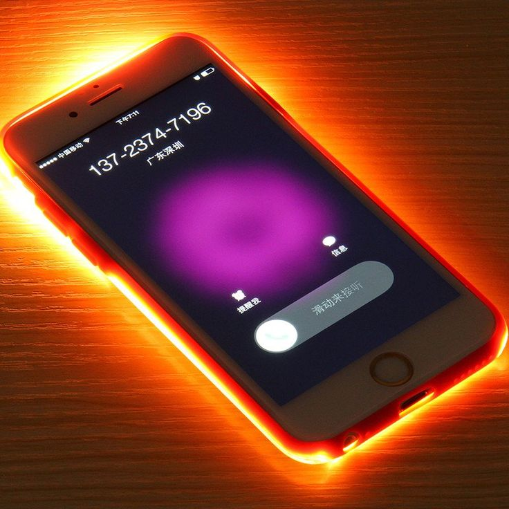 coque iphone 6 led