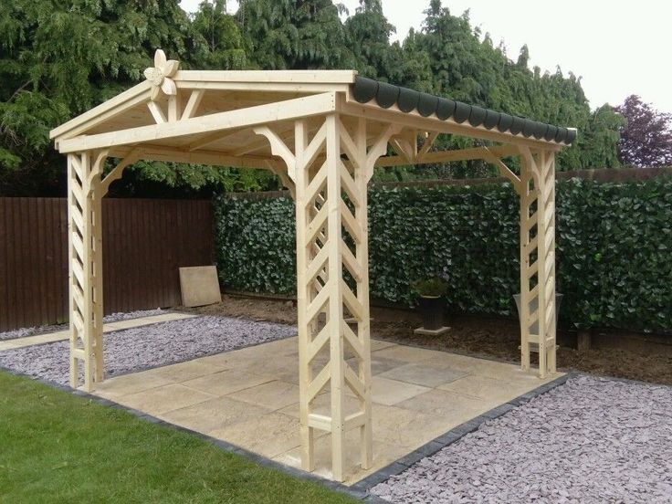 Wooden gazebo,pergola,summer house,hot tub Jacuzzi covers,shed 2900mmx2900mm