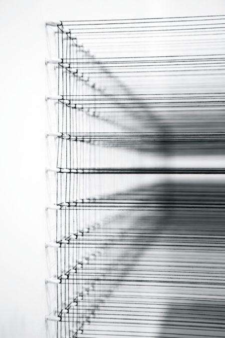 Eun Hye Kang | Full or Empty #01, 2014 | Cotton Yarn