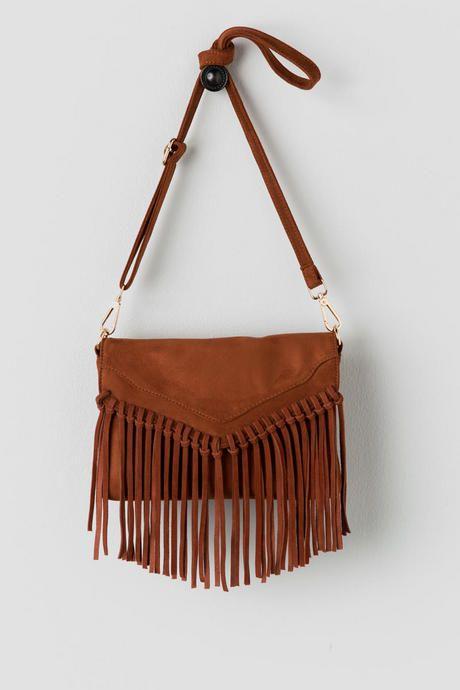 Paola Suede Crossbody Bag