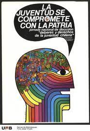 Afiche de la jornada nacional de discusión sobre los derechos y deberes de la juventud chilena. Me parece interesante su resolución gráfica ya que es muy sintética y pregnante. Además de por el tema que trata, el cual esta muy presente en la actualidad chilena.