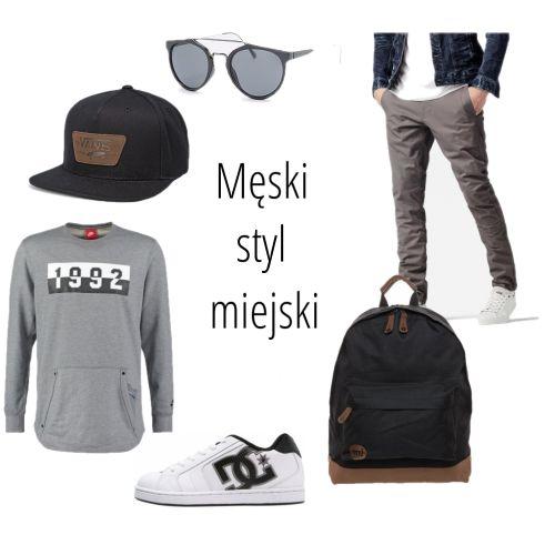 #urban #skate #city #miasto #hipster #dc #fullcap #męski #nalato #szary #sneakersy