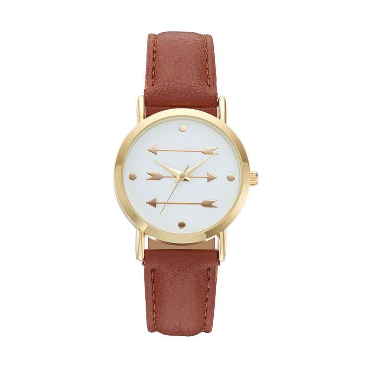 Women's Arrow Watch, Brown