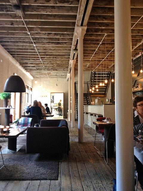 The stylish Timberyard is worth a visit :-)