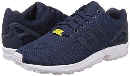 Oferta: 100€ Dto: -35%. Comprar Ofertas de adidas ZX Flux - Zapatillas deportivas para hombre, color azul marino / plata / blanco, talla 40 2/3 barato. ¡Mira las ofertas!