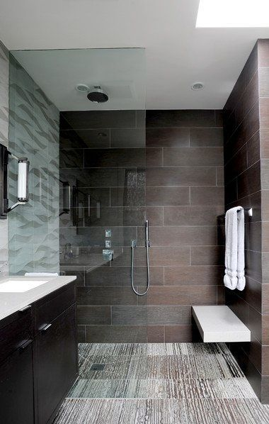 2574 best minimalist home design images on pinterest for Minimalist small bathroom design