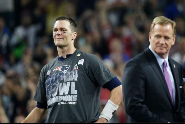 Alex Butler Feb. 6 (UPI) -- Throughout the 2016 NFL season, Tom Brady was tight-lipped about commissioner Roger Goodell.