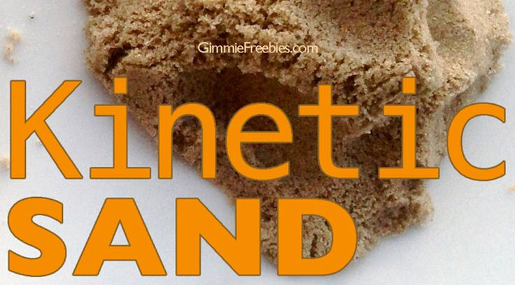 Why spend nearly $20 for 2 lbs of Kinetic Sand when you can Make Your Own Kinetic Sand (10 lbs for 50 cents) using