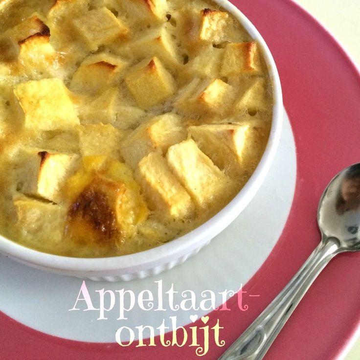 Appel + taart + ontbijt = lekker!