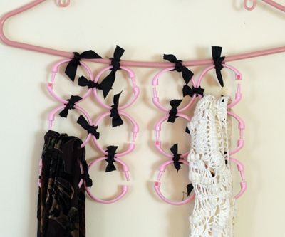 Make a Scarf Organizer