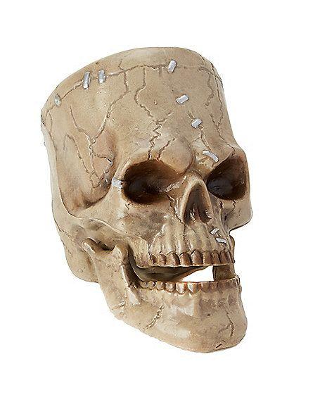 lab monster skull decorations spirithalloweencom - Halloween Skull Decorations