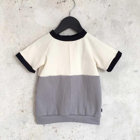 T-shirt - Grey/Cream