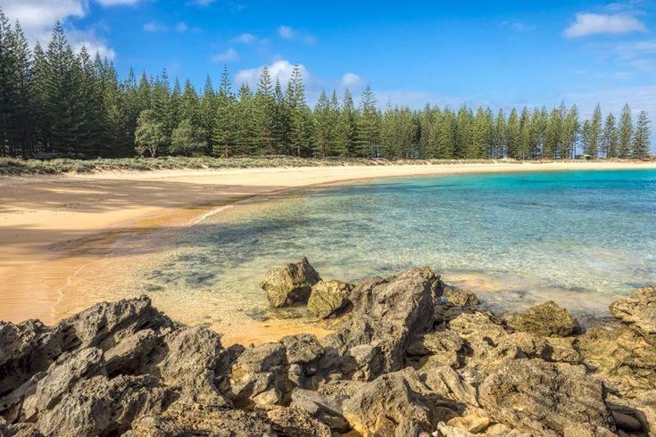 Emily Bay lagoon Norfolk Island