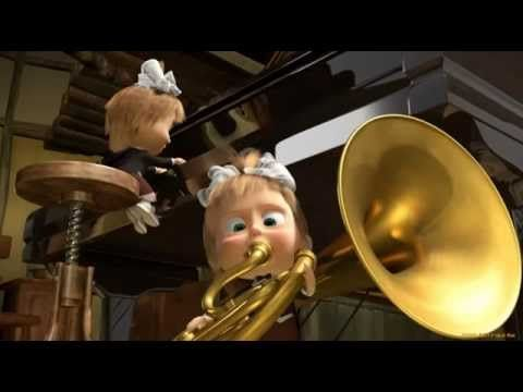 Masha and The Bear Song Pesenka O Chistote - YouTube