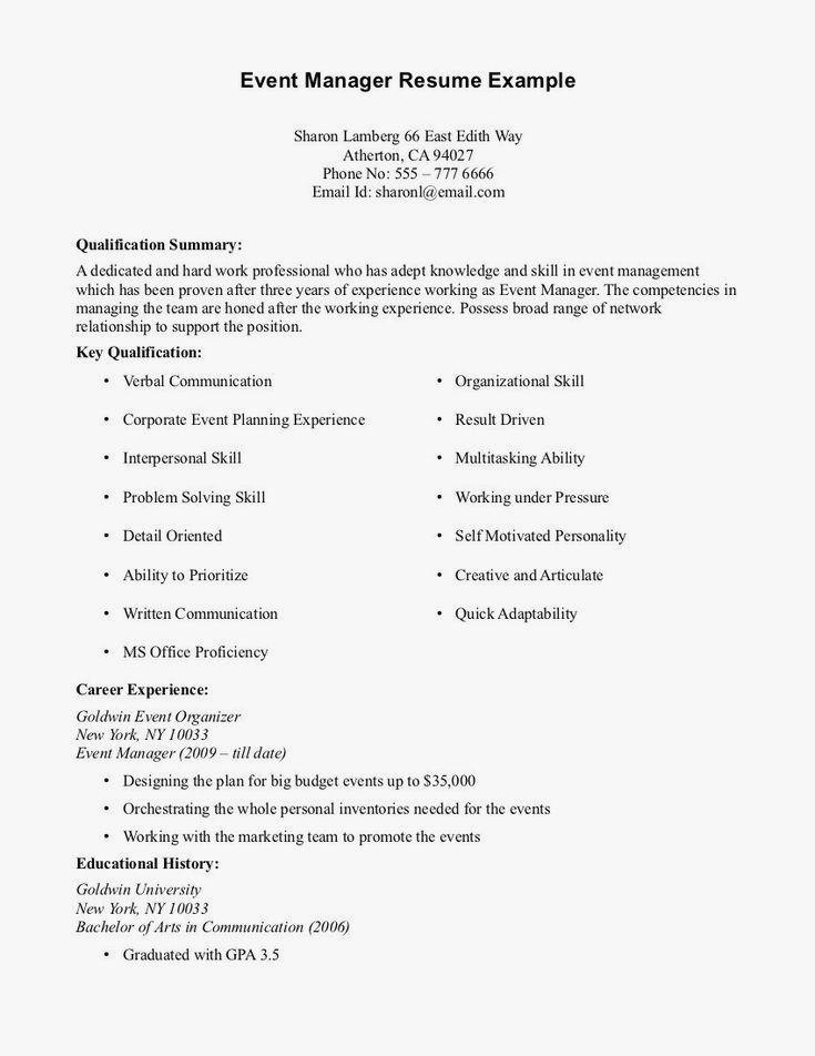 Basic Resume Examples Minimalist Resume Examples In 2020 Job Resume Examples Resume No Experience Resume Examples