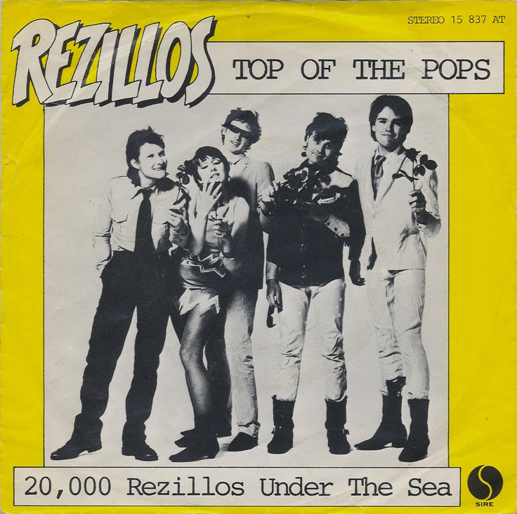 """Rezillos - Top Of The Pops [1978, Sire Records 15 837 AT│Germany] - 7""""/45 vinyl record"""