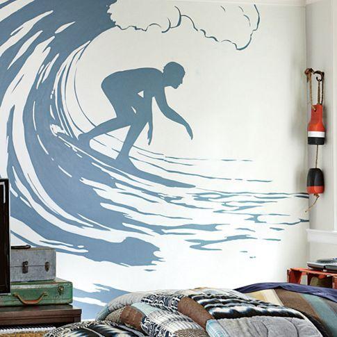 Surfer Decal #pbteen