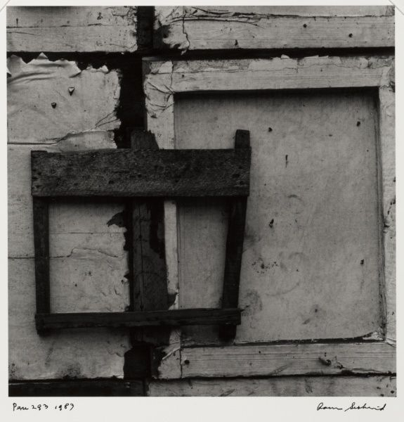 Aaron Siskind's photography