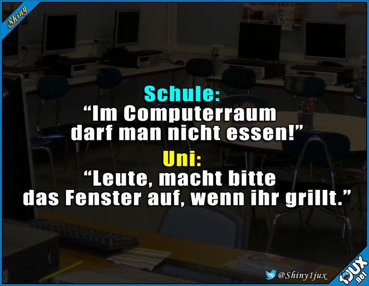 Fenster auf, dann geht das schon klar! #Schule #Uni #studieren #Studium #lustig #Humor #Sprüche