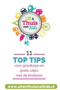 11 top tips voor goedkope en gratis uitjes met kinderen. Besparen op je uitjes. Uit & Thuis met Kids.