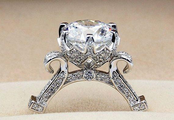 3 Carat Diamond Cinderella Pumpkin Carriage by AllThingsGeekChic