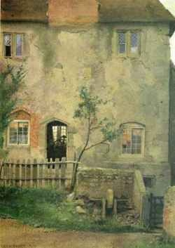 1872 Edward Henry Fahey (British 1844-1907) ~ Old Farm House: Old Farmhouse, 1872 Edward, Faheyold Farms, Henry Fahey, Old Farms Houses, Fahey British, British 1844 1907, Edward Henry, Farm Houses