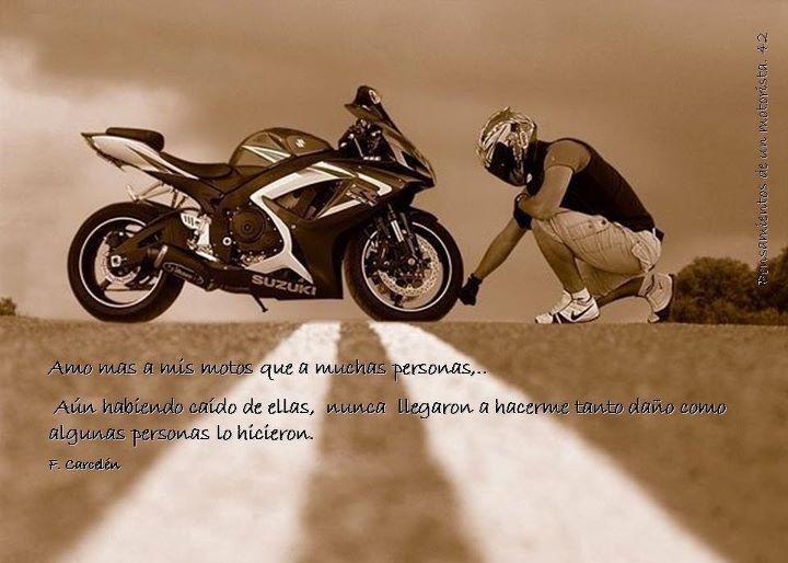 frases de amor para motociclistas - Buscar con Google
