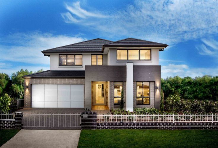 Sheridan 36 || Double storey home design featuring five bedrooms plus a study/guest room and and upstairs leisure room