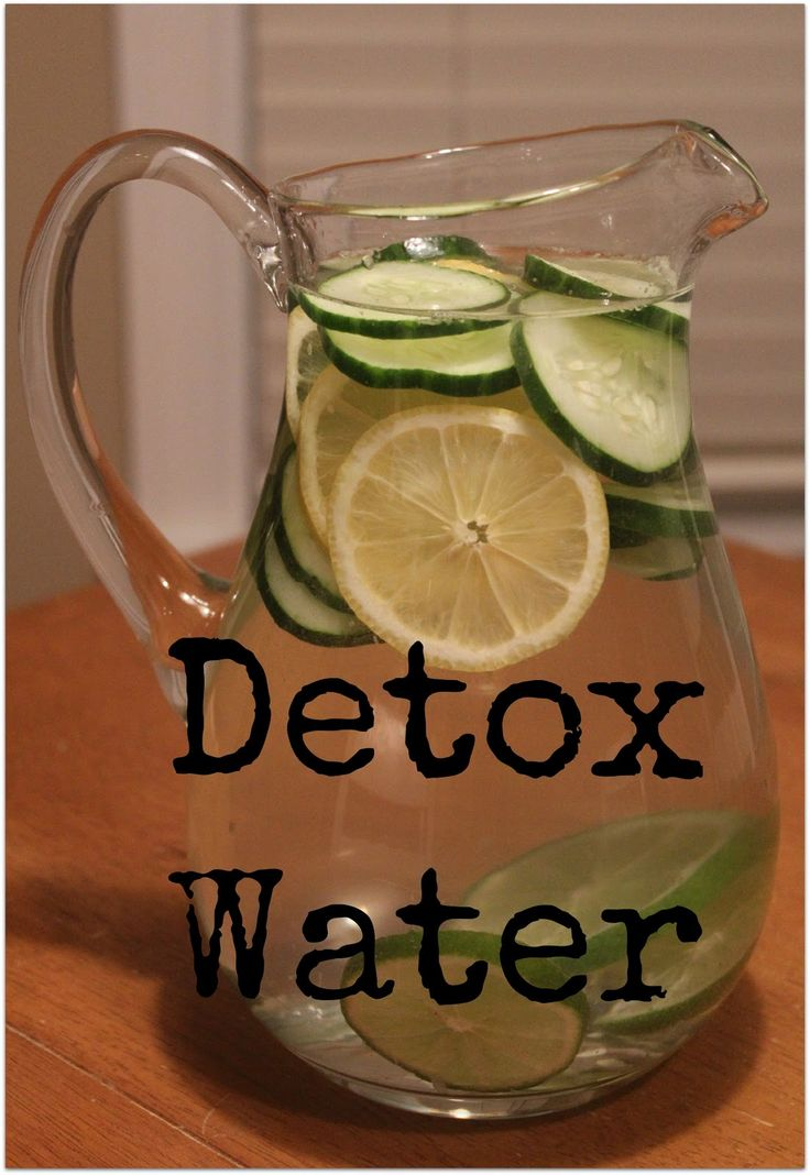 New Year Detox Water to start 2013 off the healthy way! Lemons, limes, and cucumbers is all you need, let it sit over night!