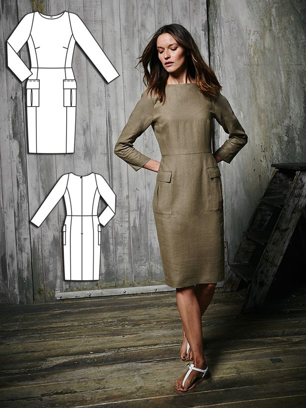 This is an awesome go to pattern for all my dresses in the future! <3