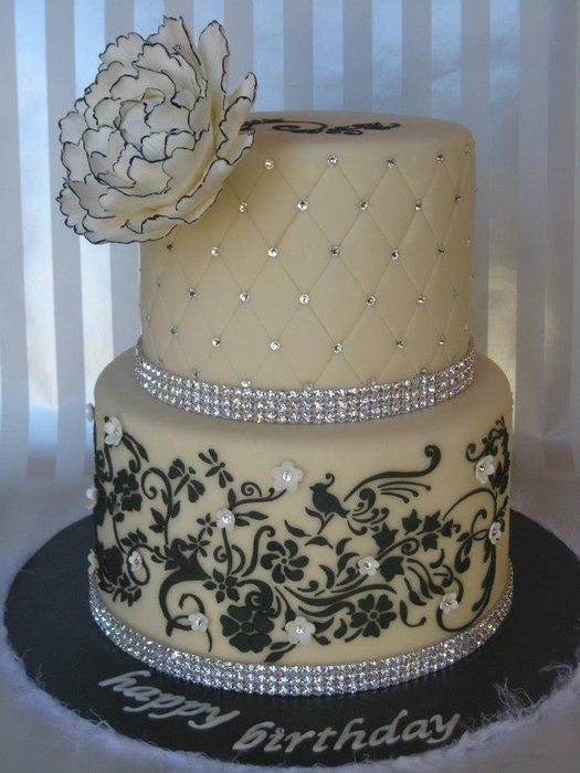 74 best 50th Birthday cake images on Pinterest Purple cakes