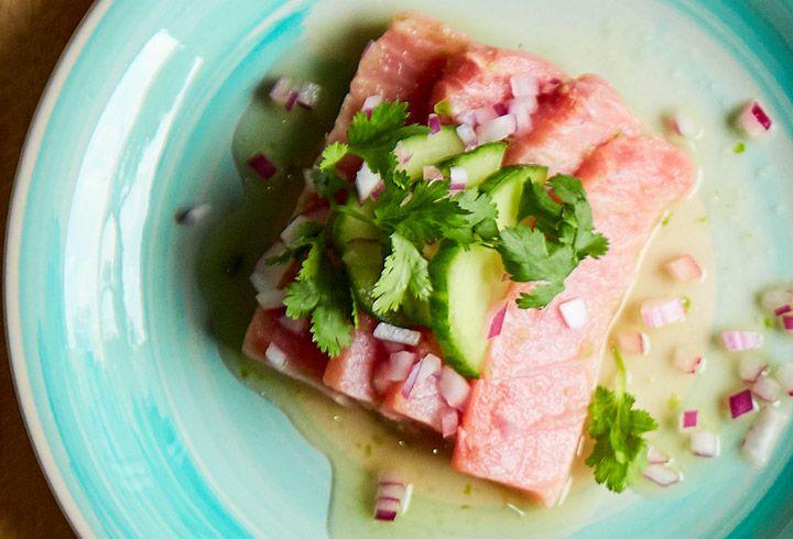 Aguachile de atún Tuny - Recetas de atún - Atún Tuny