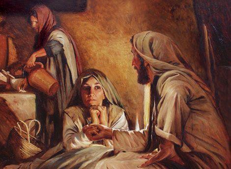 martha and mary in the bible | christ+teaching+martha+and+mary+anton+dorph.jpg