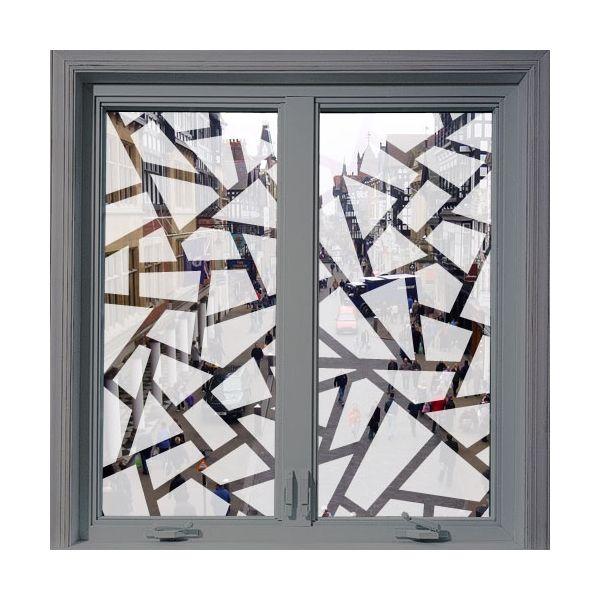 Gracias al vinilo transl cido adhesivo dejar s pasar la - Vinilos para ventanas ...
