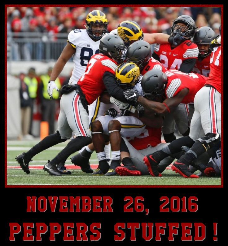 11-26-2016 GAME 312 THE GAME: PEPPERS STUFFED!