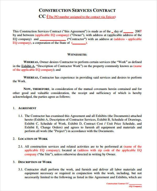 Construction Contract Template Google Docs You Will Never Believe These Bizarre Truth Behind Contract Template Construction Contract Template Google