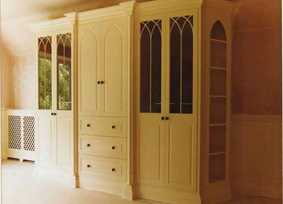 William Heath bespoke designs Wardrobe