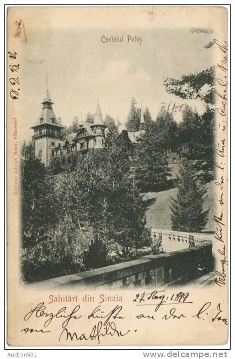 Sinaia - Castelul Peles - 1899
