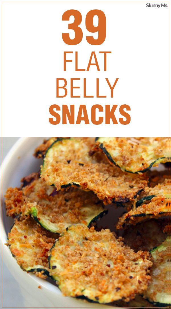 39 Flat Belly Snacks to munch on without any of the guilt.