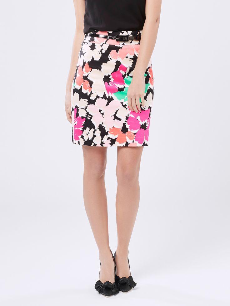 Splash Of Bloom Skirt