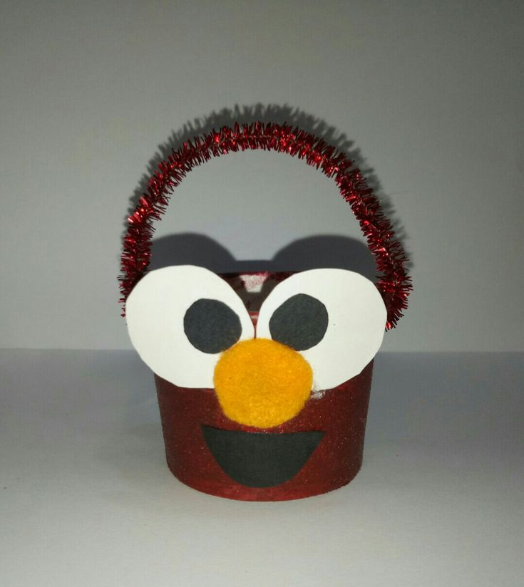 Elmo 🐰 Easter Egg Basket