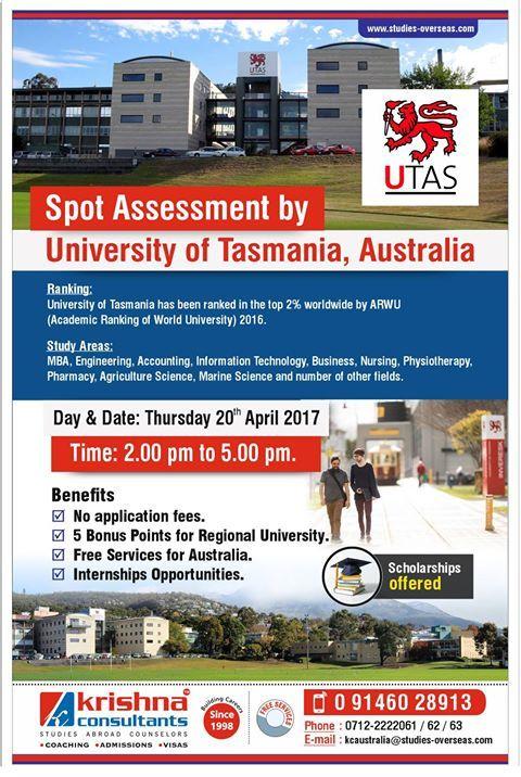 Spot Assessment by University of Tasmania, #Australia @ Krishna Consultants #Nagpur. Date: 20th April 2017. http://bit.ly/2psVgnT