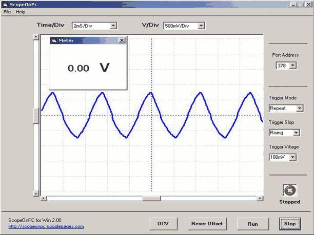 Laden Sie ScopeOnPC 2 herunter und verwandeln Sie Ihren Computer in ein Oszilloskop – www.te1.com/   – Eletrônica