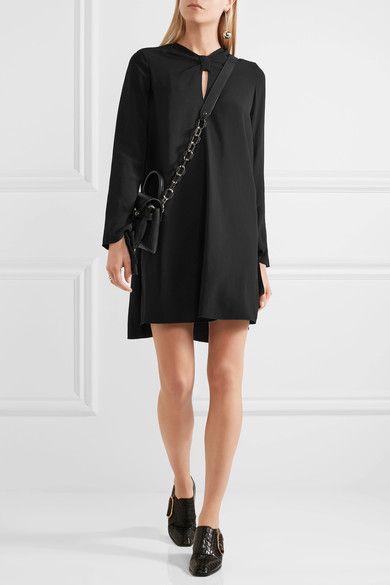 Proenza Schouler - Crepe Mini Dress - Black - US10