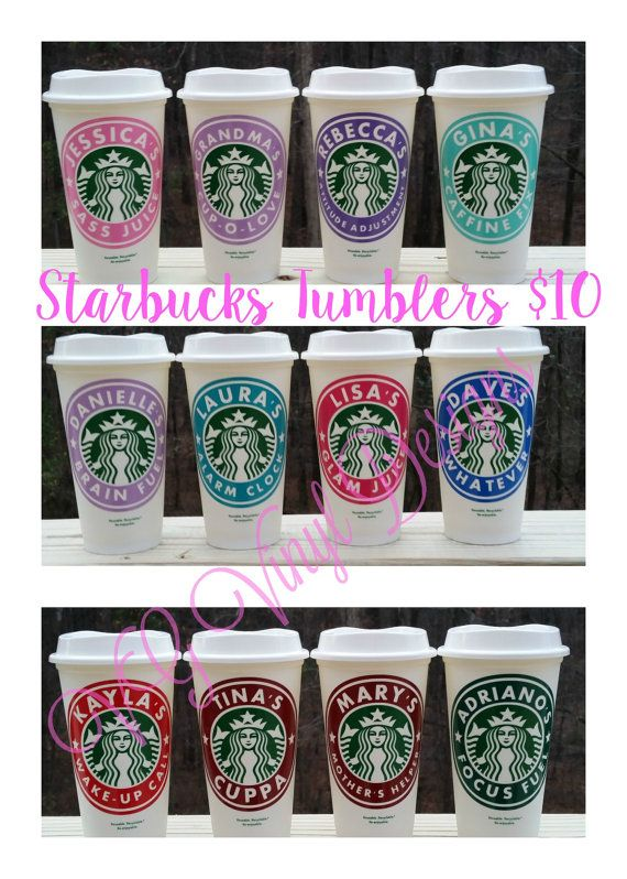 Personalized Starbucks Cup - Custom Starbucks Cup Gift - 16oz Starbucks Cup…
