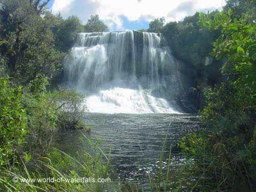 Papakorito Falls  Te Urewera National Park, Hawke's Bay, New Zealand