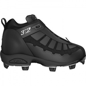 Mens 3N2 Prospect Baseball Cleats Black Leather - ONLY $34.95