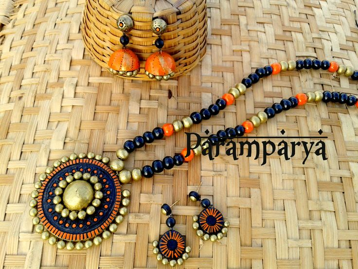 Paramparya terracotta jewellery