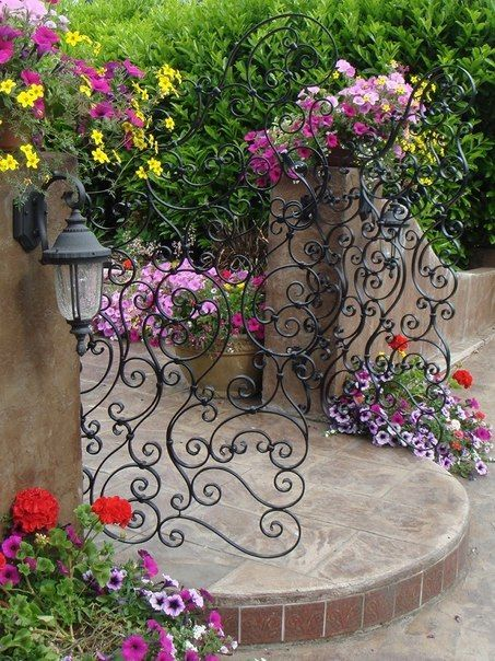 165 best images about garden gates on pinterest gardens for Double garden gate designs